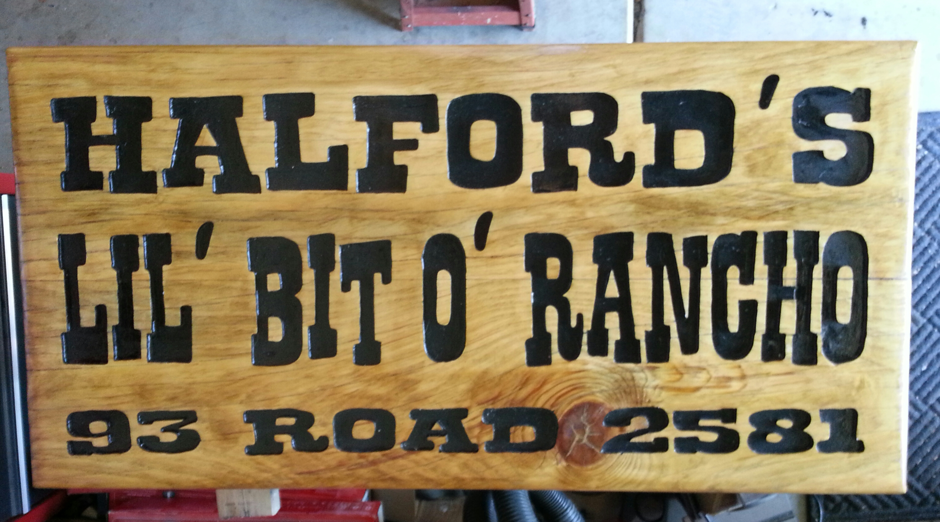 Halford Ranch Farm Sign Progression