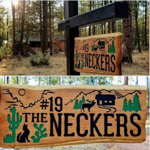 Neckers Sign Hung